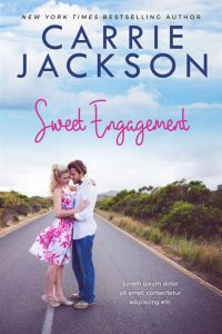 Sweet Engagement - Chicklit Romance Premade Book Cover For Sale @ Beetiful Book Covers