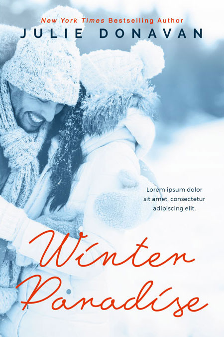 Winter Paradise - Winter Romance Premade Book Cover For Sale @ Beetiful Book Covers
