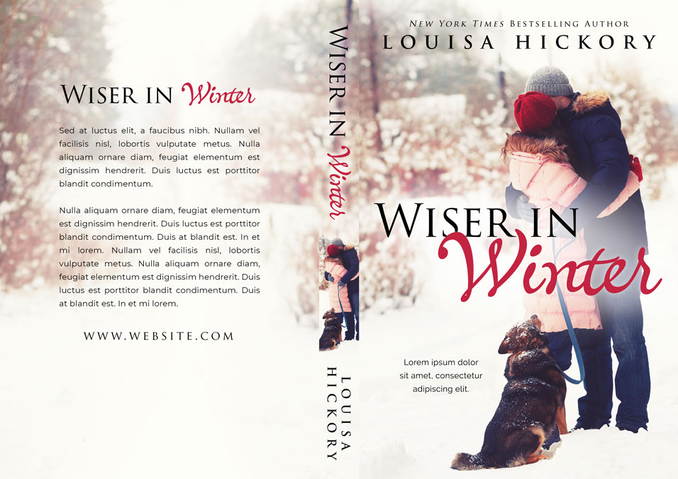 Wiser In Winter - Winter Romance Premade Book Cover For Sale @ Beetiful Book Covers