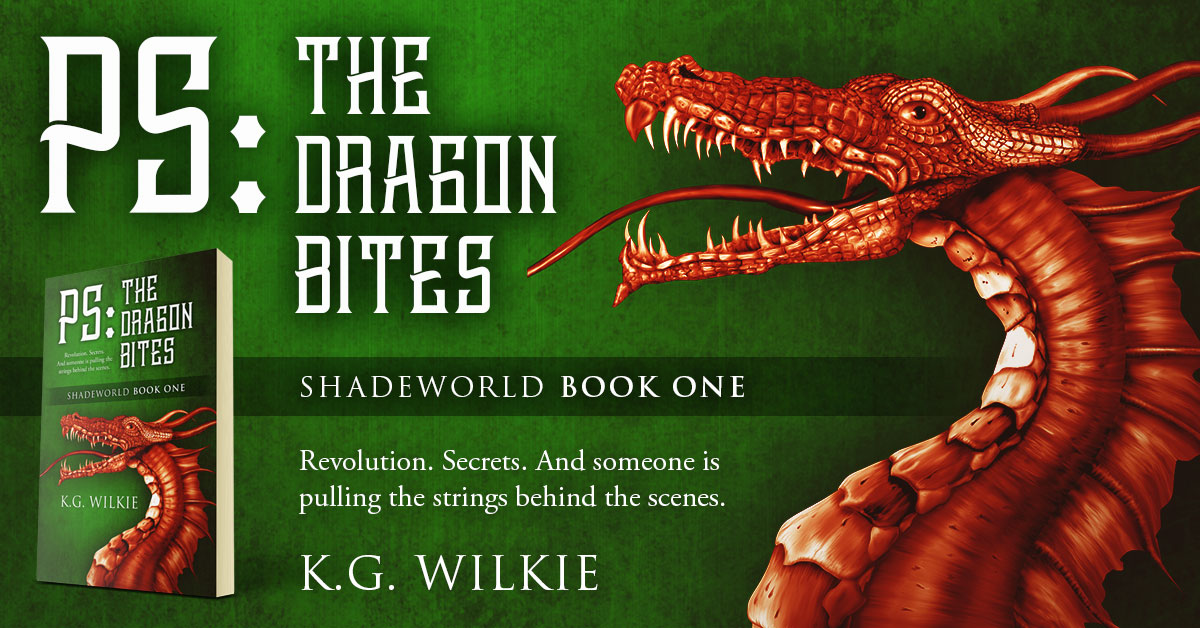 Showcase Spotlight: PS The Dragon Bites by K.G. Wilkie