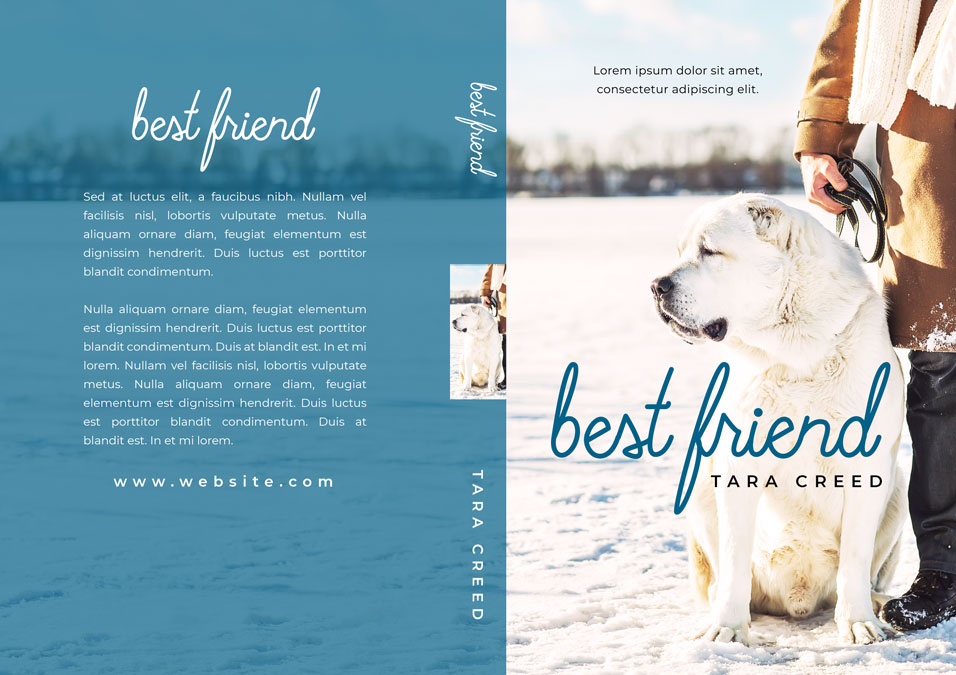 Best Friend - Dog Fiction Premade Book Cover For Sale @ Beetiful Book Covers