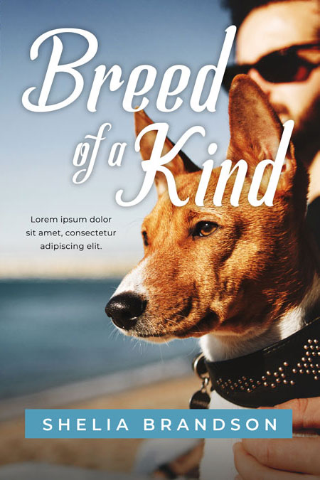 Breed of a Kind - Dog Fiction Premade Book Cover For Sale @ Beetiful Book Covers