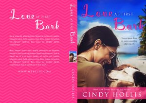 Love At First Bark - Dog Fiction Premade Book Cover For Sale @ Beetiful Book Covers
