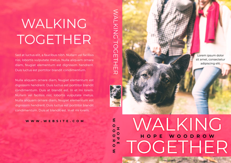 Walking Together - Pet Romance Premade Book Cover For Sale @ Beetiful Book Covers