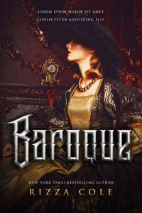 Baroque - Historical Romance / Fantasy Premade Book Cover For Sale @ Beetiful Book Covers