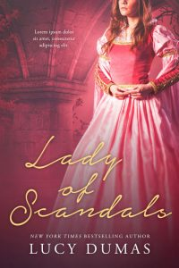 Lady of Scandals - Historical Romance Premade Book Cover For Sale @ Beetiful Book Covers