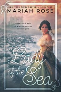 Lady of the Sea - Historical Romance / Fantasy Premade Book Cover For Sale @ Beetiful Book Covers