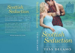 Scottish Seduction - Historical Romance Premade Book Cover For Sale @ Beetiful Book Covers