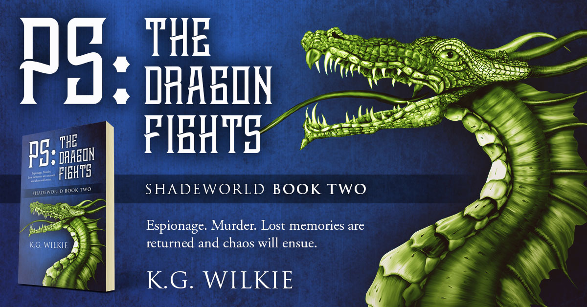 Showcase Spotlight: PS The Dragon Fights by K.G. Wilkie