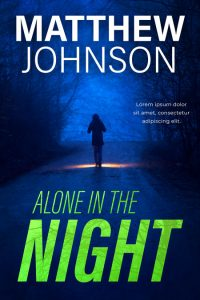 Alone in the Night - Mystery Pre-made Book Cover For Sale @ Beetiful Book Covers