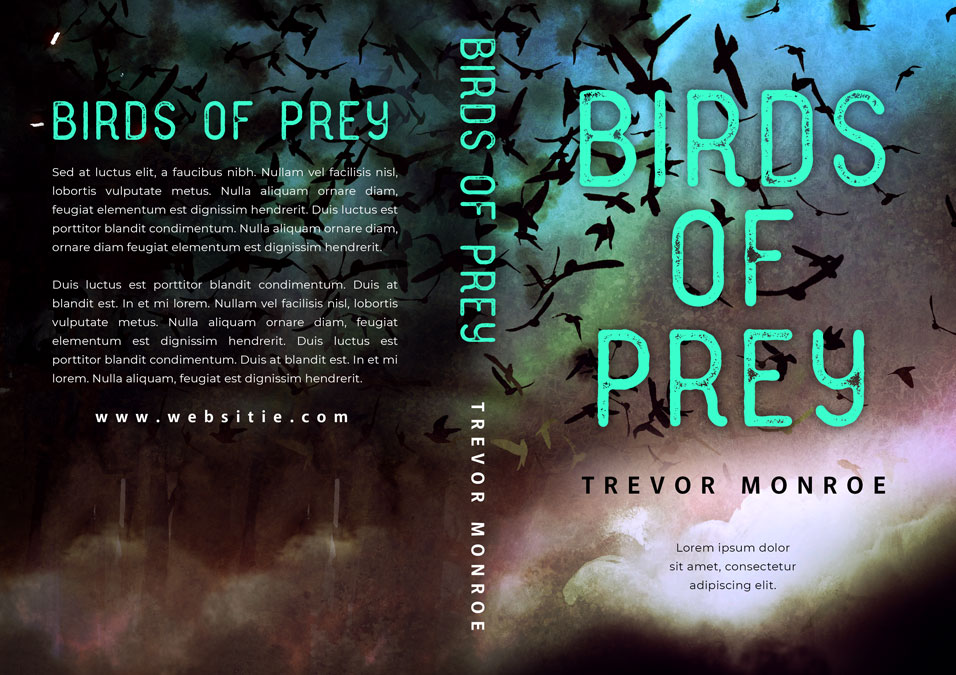 Birds of Prey - Science Fiction Premade Book Cover For Sale @ Beetiful Book Covers