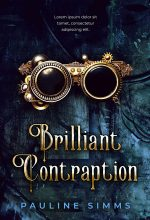 Brilliant Contraption – Science Fiction Premade Book Cover For Sale @ Beetiful Book Covers