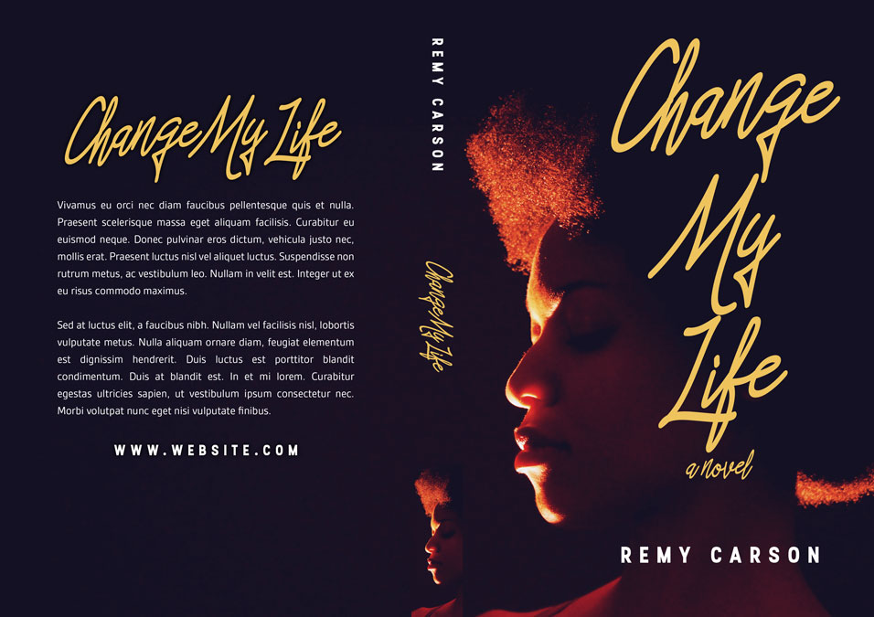 Change My Life - African-American Fiction Premade Book Cover For Sale @ Beetiful Book Covers