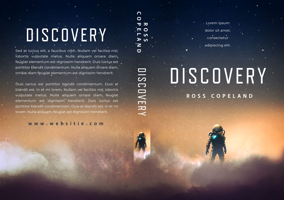 Discovery - Science Fiction Premade Book Cover For Sale @ Beetiful Book Covers