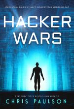 Hacker Wars – Science-Fiction Pre-made Book Cover For Sale