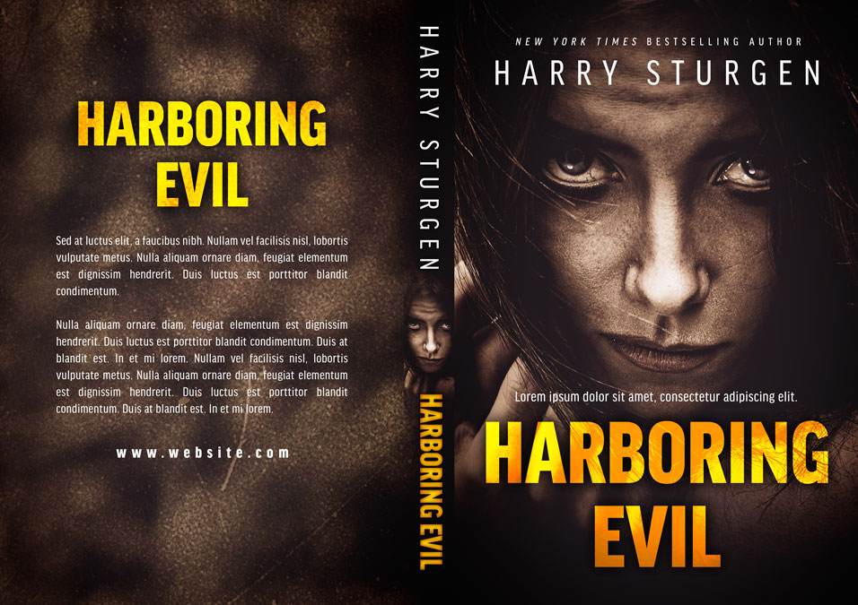 Harboring Evil - Psychological Thriller Premade Book Cover For Sale @ Beetiful Book Covers