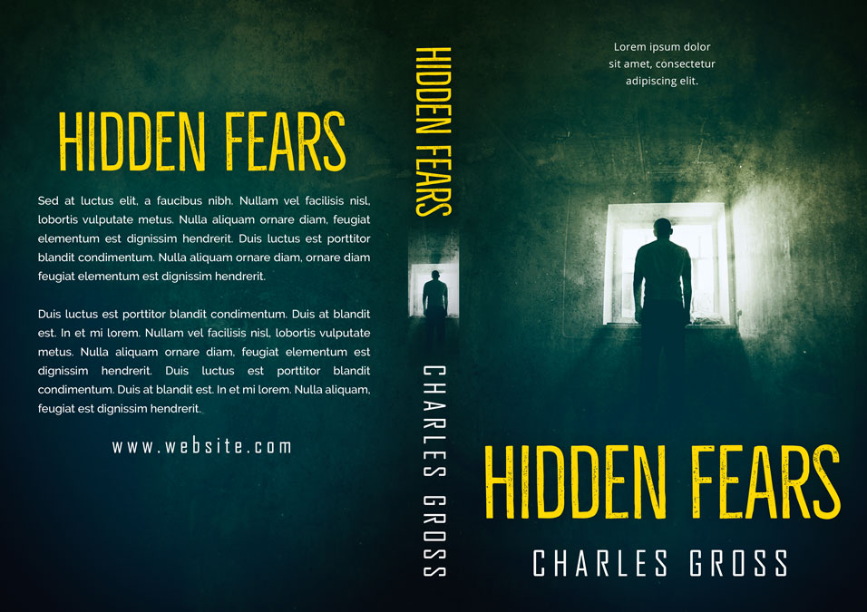 Hidden Fears - Horror Premade / Predesigned Book Cover For Sale @ Beetiful Book Covers