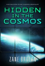 Hidden in the Cosmos – Science-Fiction Pre-made Book Cover For Sale
