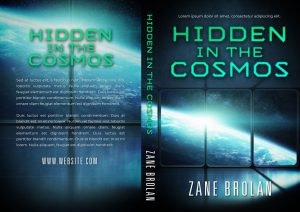 Hidden in the Cosmos - Science-Fiction Pre-made Book Cover For Sale