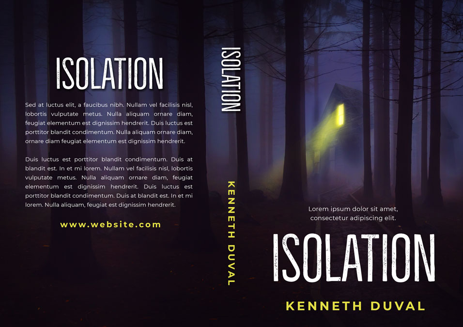 Isolation - Horror / Thriller Premade Book Cover For Sale @ Beetiful Book Covers
