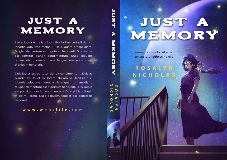Just a Memory - Science Fiction Premade Book Cover For Sale @ Beetiful Book Covers