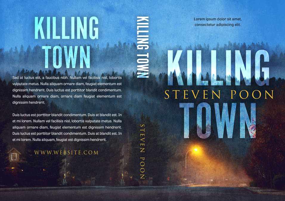 Killing Town - Mystery / Thriller Premade Book Cover For Sale @ Beetiful Book Covers