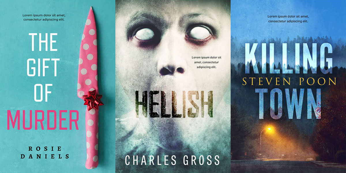 39 New Mystery, Thriller, Horror Book Covers