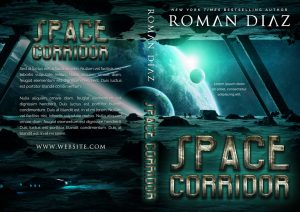 Space Corridor - Science-Fiction Pre-made Book Cover For Sale @ Beetiful Book Covers