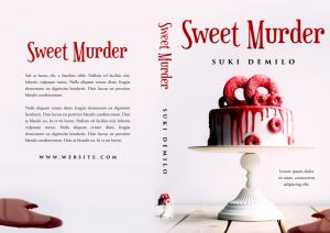 Sweet Murder - Cozy Mystery Premade / Predesigned Book Cover For Sale @ Beetiful Book Covers