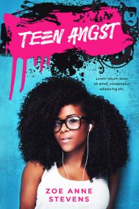 Teen Angst - African-American Fiction Premade Book Cover For Sale @ Beetiful Book Covers