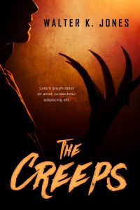 The Creeps - Horror Premade / Predesigned Book Cover For Sale @ Beetiful Book Covers