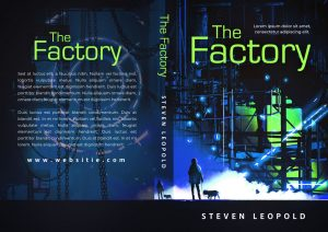 The Factory - Science Fiction Premade Book Cover For Sale @ Beetiful Book Covers