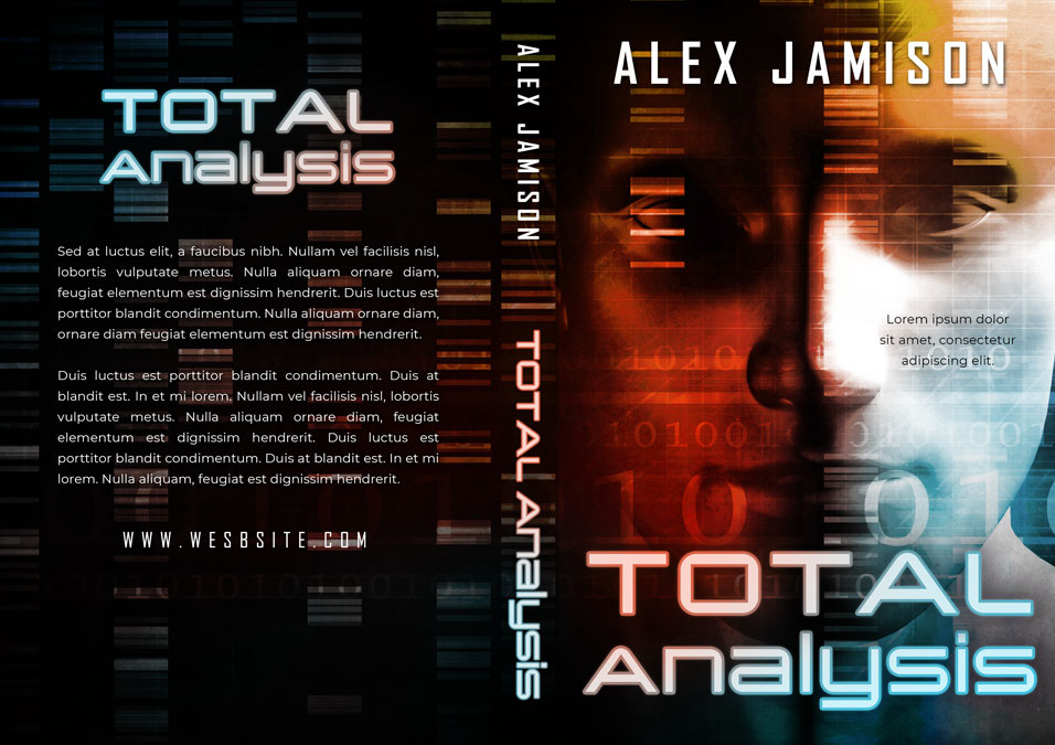Total Analysis - Science-Fiction Pre-made Book Cover For Sale @ Beetiful Book Covers