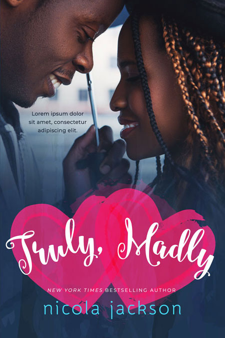 Truly, Madly - African-american romance Premade Book Cover For Sale @ Beetiful Book Covers