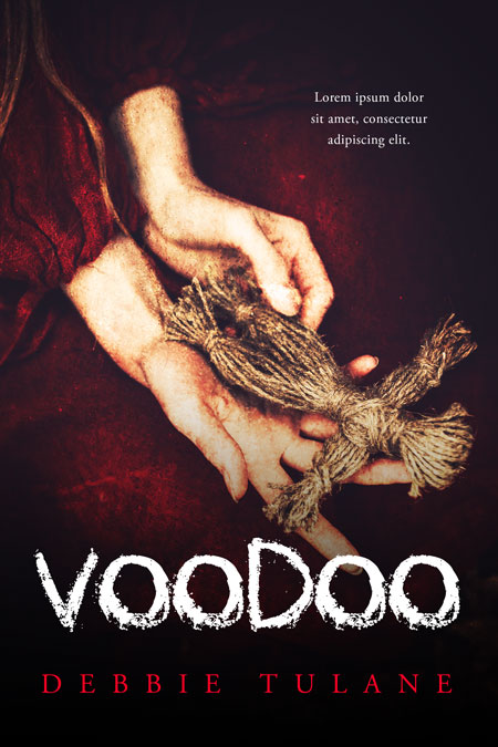 Voodoo - Horror Premade / Predesigned Book Cover For Sale @ Beetiful Book Covers