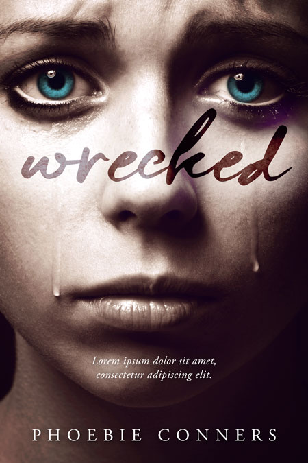 Wrecked - Mystery / Thriller Premade / Predesigned Book Cover For Sale @ Beetiful Book Covers