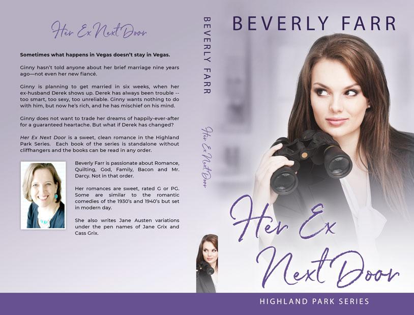 Her Ex Next Door by Beverly Farr
