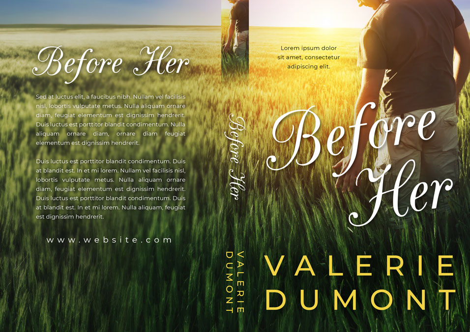 Before Her - Romance Premade Book Cover For Sale @ Beetiful Book Covers