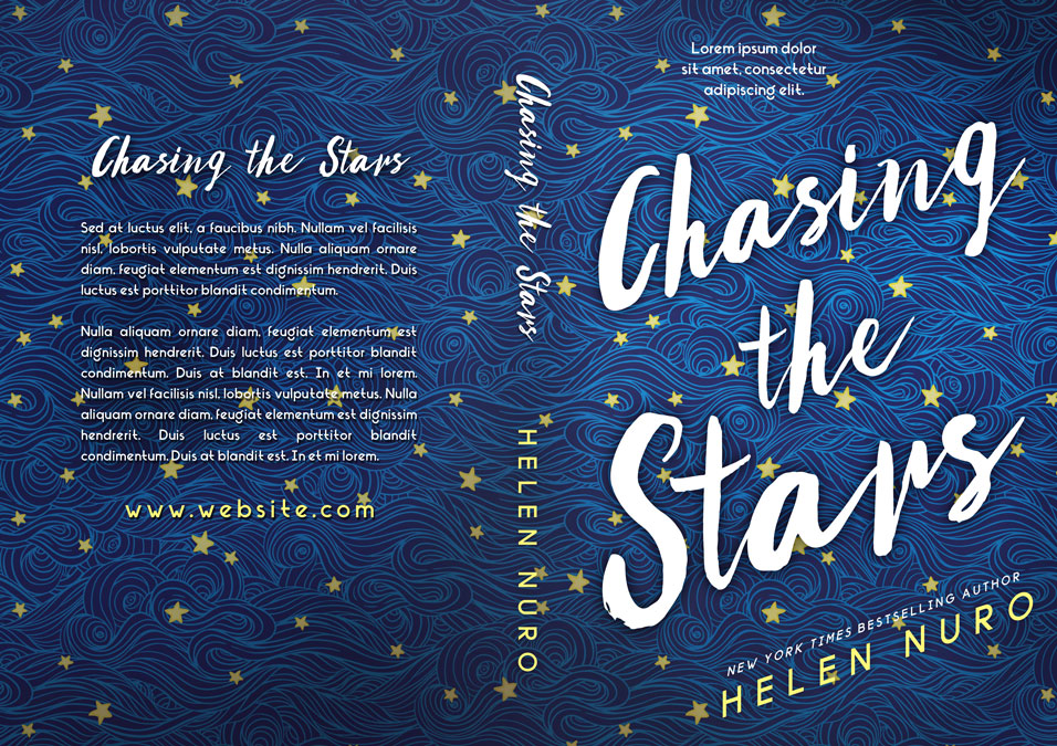 Chasing the Stars - Young Adult Premade / Predesigned Book Cover For Sale @ Beetiful Book Covers