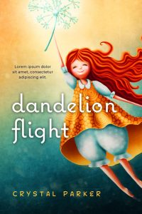 Dandelion Flight - Children's / Juvenile Fiction Premade / Predesigned Book Cover For Sale @ Beetiful Book Covers