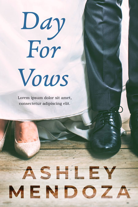 Day For Vows - Wedding Premade Book Cover For Sale @ Beetiful Book Covers