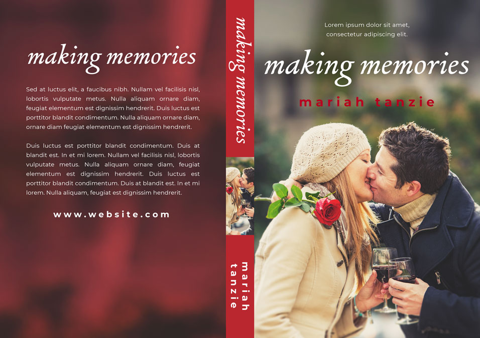 Making Memorires - Contemporary Romance Premade Book Cover For Sale @ Beetiful Book Covers