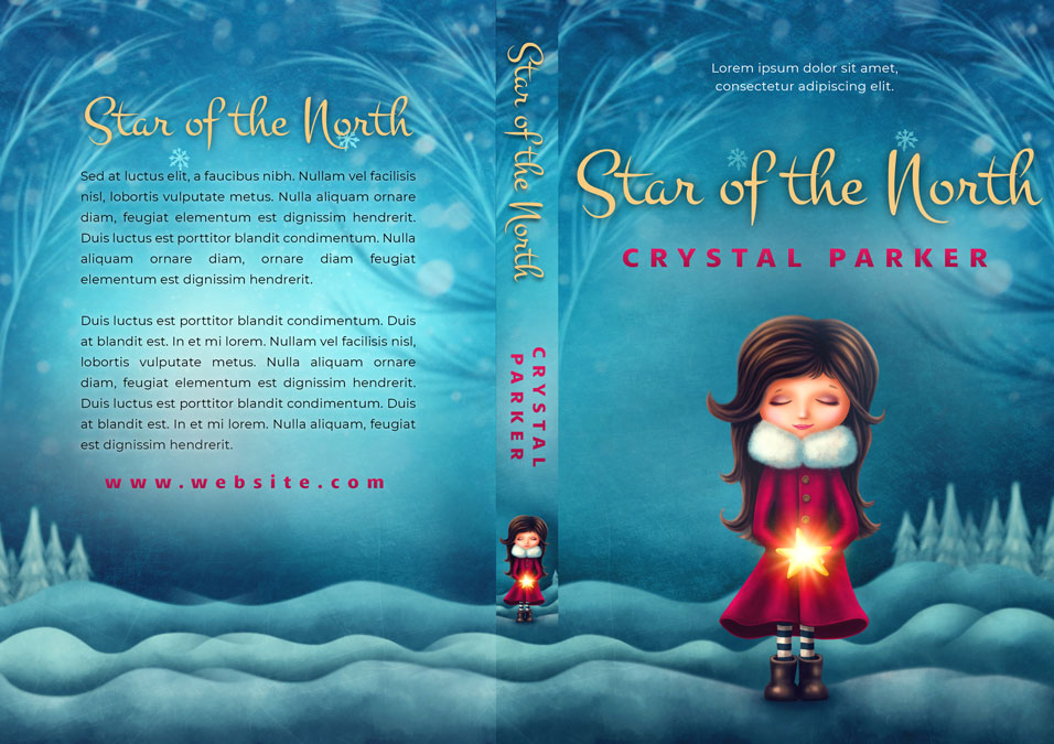 Star of the North - Children's / Juvenile Fiction Premade / Predesigned Book Cover For Sale @ Beetiful Book Covers
