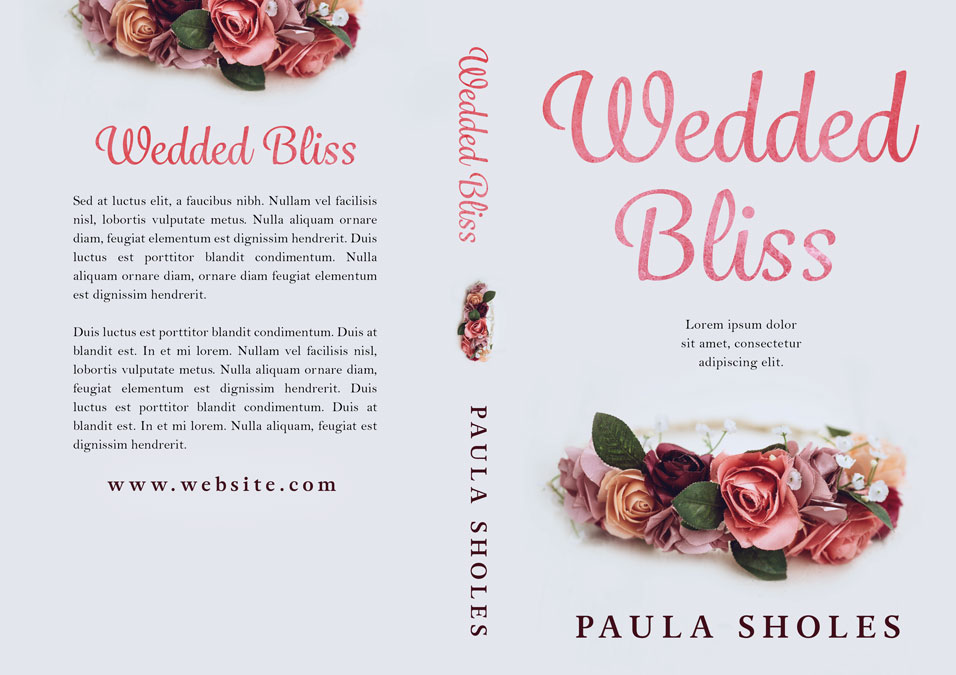 Wedded Bliss - Women's Fiction / Romance Premade Book Cover For Sale @ Beetiful Book Covers