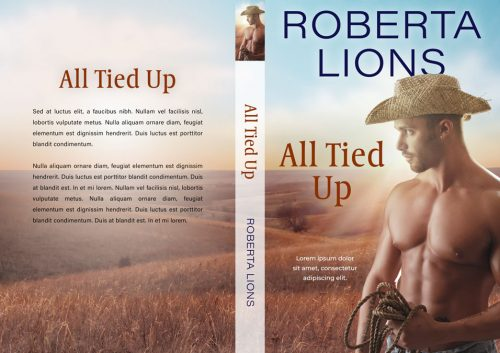 All Tied Up - Western Romance Premade Book Cover For Sale @ Beetiful Book Covers
