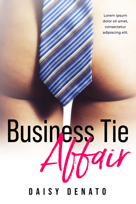 Business Tie Affair - Erotica Premade Book Cover For Sale @ Beetiful Book Covers