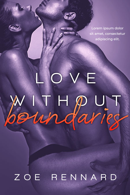 Love Without Boundaries - Erotica Premade Book Cover For Sale @ Beetiful Book Covers