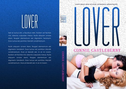 Lover - Lesbian Romance Premade Book Cover For Sale @ Beetiful Book Covers