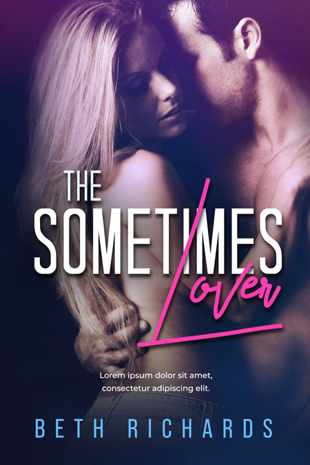 The Sometimes Lover - Romance Premade Book Cover For Sale @ Beetiful Book Covers