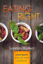 Eating Right – Cookbook or Diet Book Cover For Sale